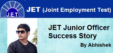 Success Story of JET Junior Officer