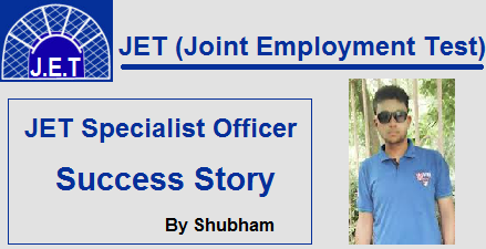 JET Specialist Officer success story