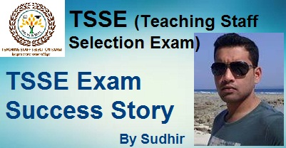 TSSE (Teaching Staff Selection Exam) Success Story