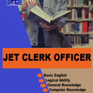 JET Clerk Officer Preparation Book 2019, JET Clerk Officer Exam Book