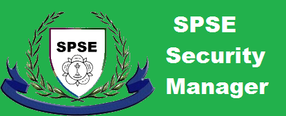 SPSE Security Manager Examination syllabus